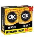 OKEY Hisset Prezervatif 40'lı Fırsat Paketi