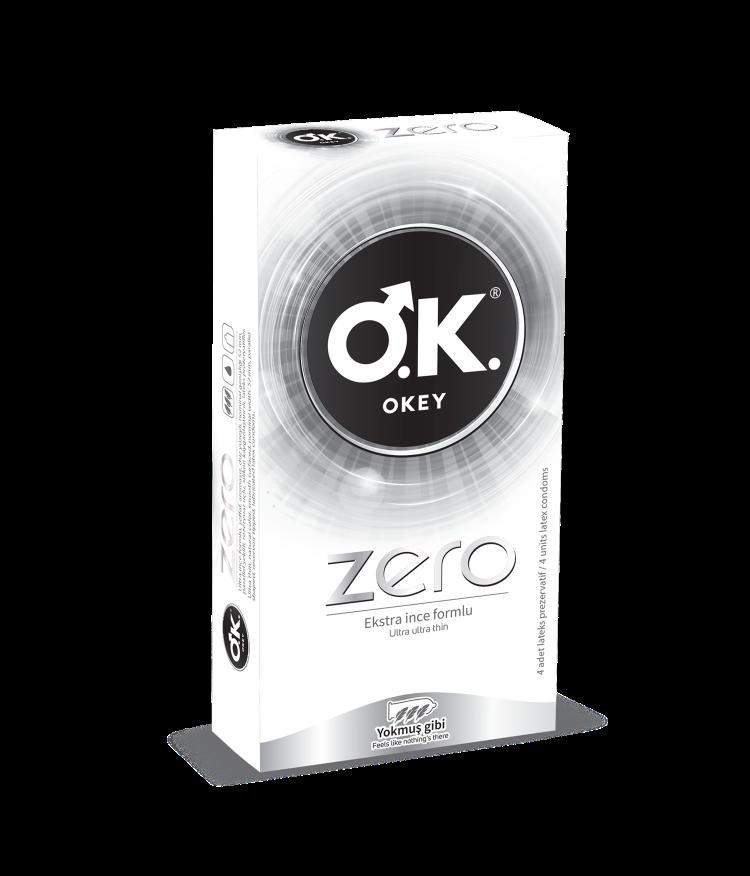 OKEY Zero 10'lu Prezervatif